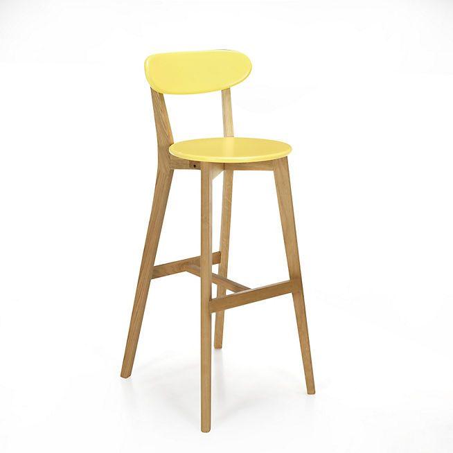 De Coloris Scandinave Bar JauneArchi Siwa Design Chaise 34Lj5AR