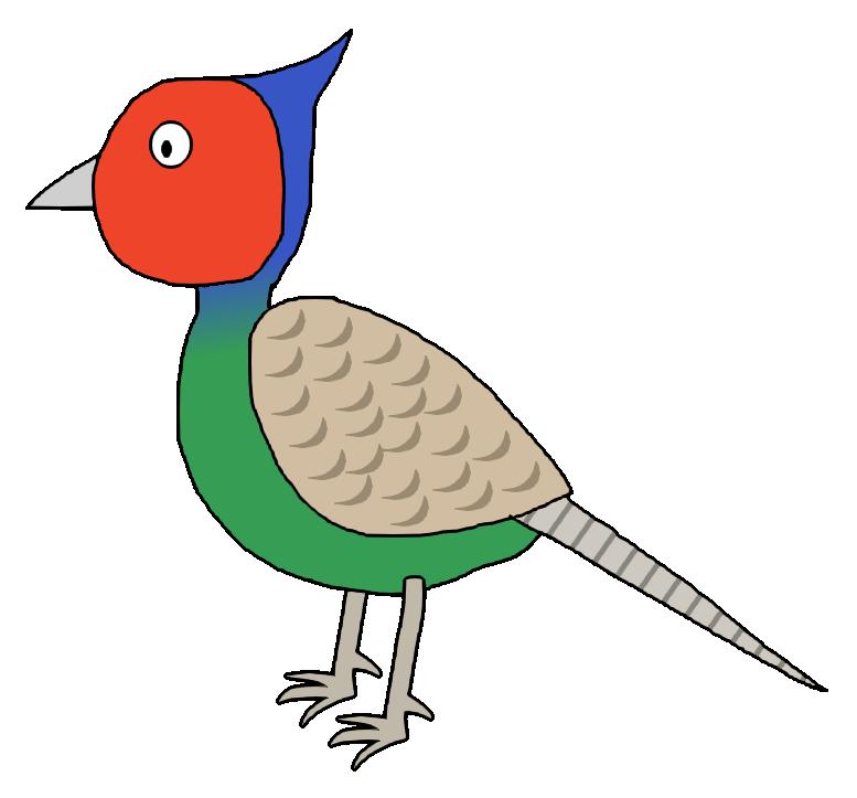 Green Pheasant ( Japanese Pheasant ) / #Animal #Bird #雉 #キジ