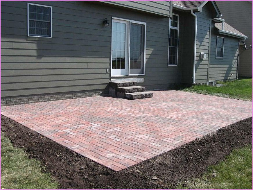 Wonderful Paver Patio Cost Calculator With Interior Design