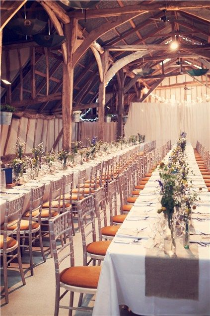 Best UK Barn And Boho Wedding Venues