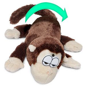 My Cat S Only Friend 3 Electronic Rolling Laughing Monkey