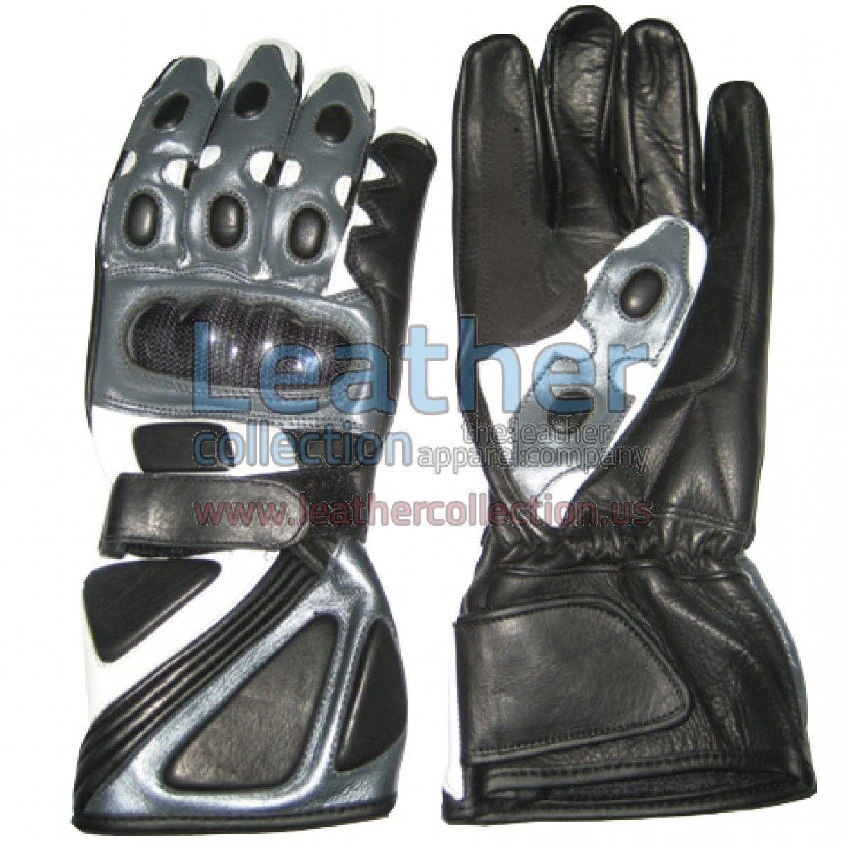 Bravo Grey Motorbike Race Gloves - https://www.leathercollection.us/en-we/bravo-grey-motorbike-race-gloves.html motorbike race gloves, Race Gloves #MotorbikeRaceGloves, #RaceGloves