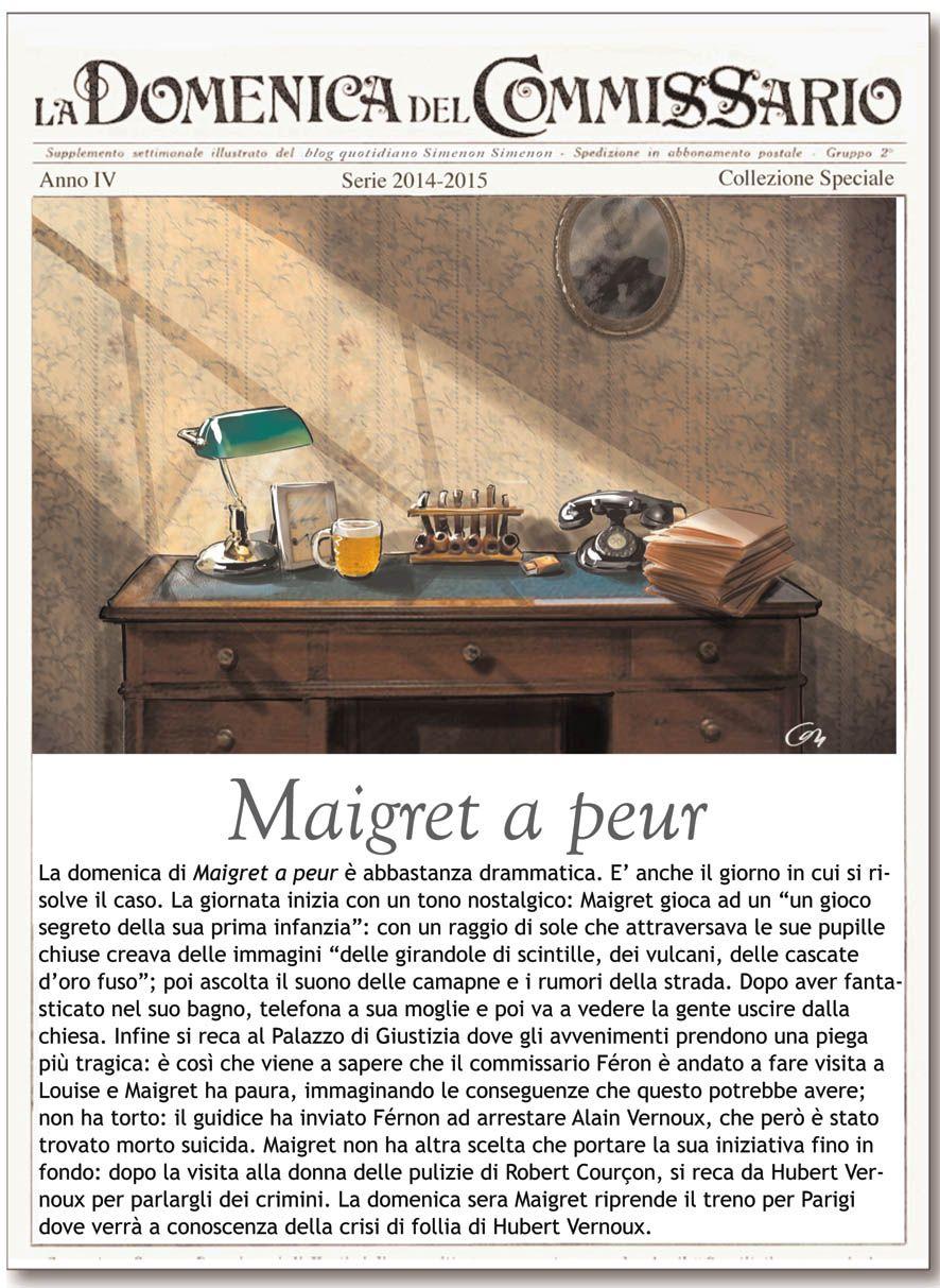 """La rubrica """"La Domenica del Commissario"""" ci offre oggi una giornata festiva di indagini per Maigret, alle prese con omicidi e suicidi"""
