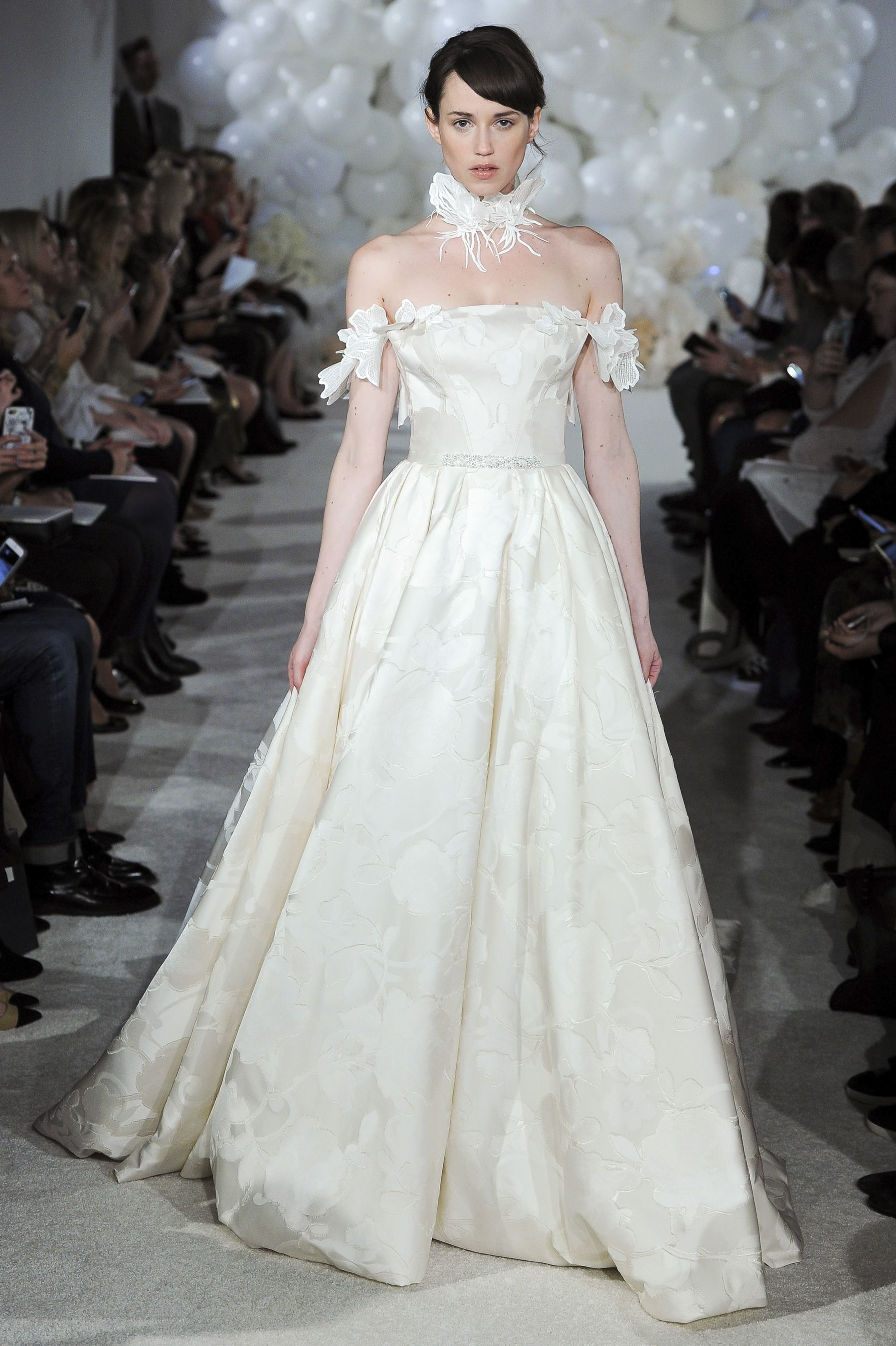 Mira zwillinger spring bridal fashion show nyfw new york