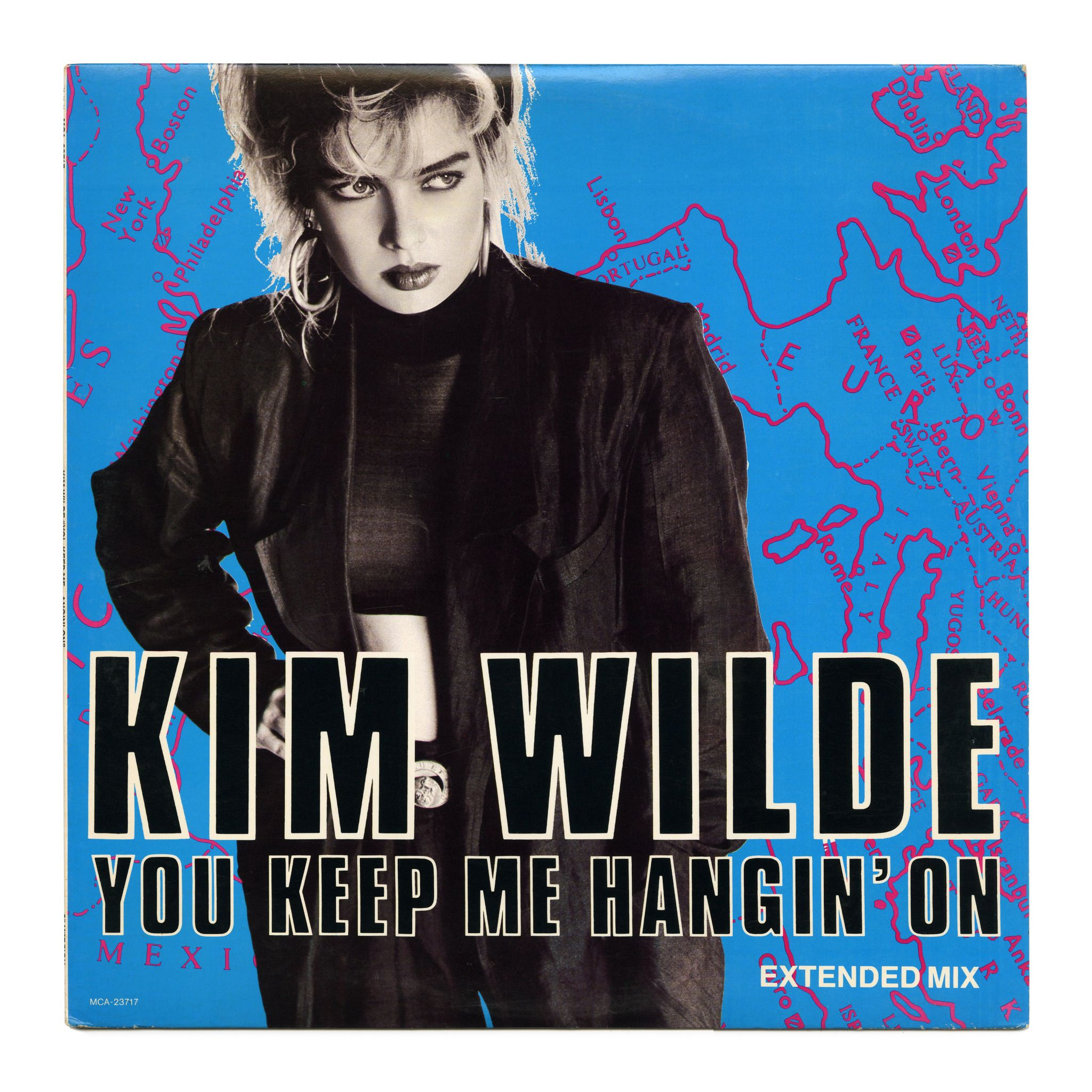You Keep Me Hangin' On (Extended Mix) Kim Wilde MCA ...