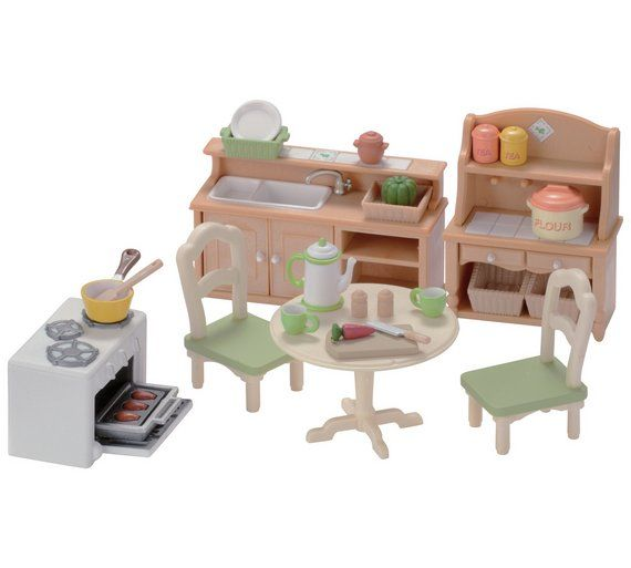 Buy Sylvanian Families Country Kitchen Set At Argos Co Uk Your