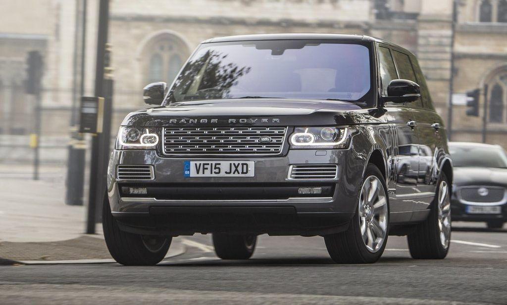 2017 Land Rover Range Rover Supercharged Review Range