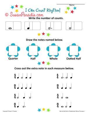 i can count rhythm a beginning worksheet music class pinterest music worksheets music. Black Bedroom Furniture Sets. Home Design Ideas
