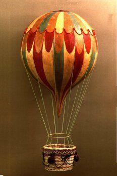 Mongolfiera In Cartapesta.Palla Hot Air Balloon Calendrier Avant Mongolfiera