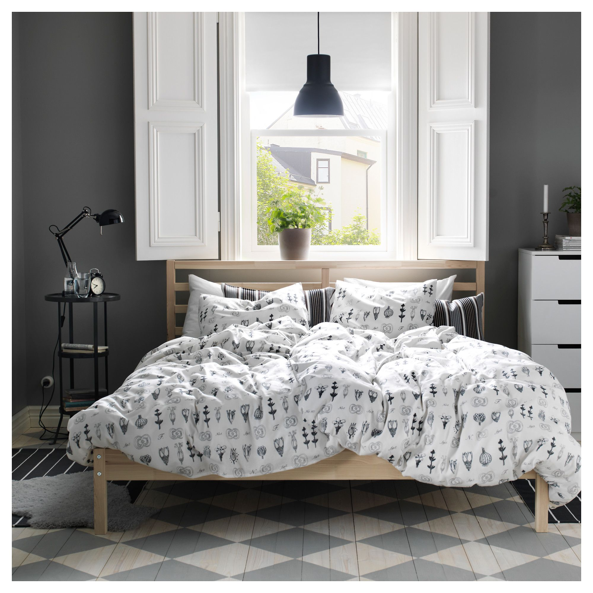IKEA TARVA Bed frame pine in 2019 Ikea bed frames