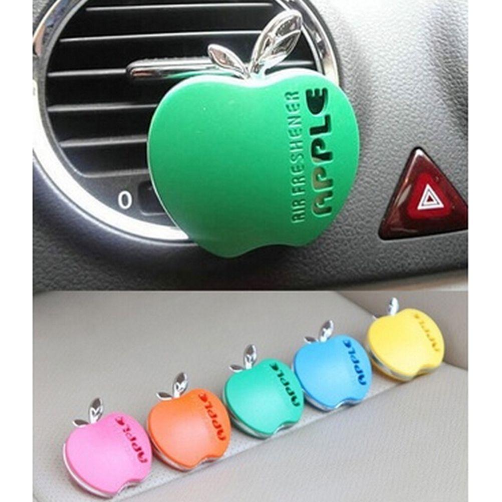 Optional Car Air Freshener Outlet Perfume Scent Interior Apple Shape ...