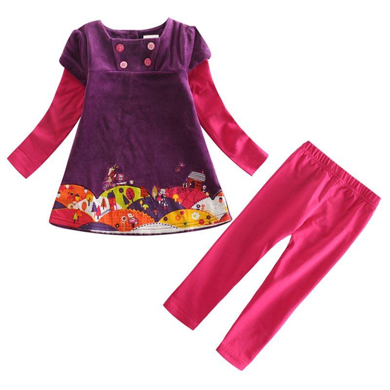 f8940e2cb3bc NOVATX Clothing sets 2pcs t-shirt leggings spring autumn clothes set ...