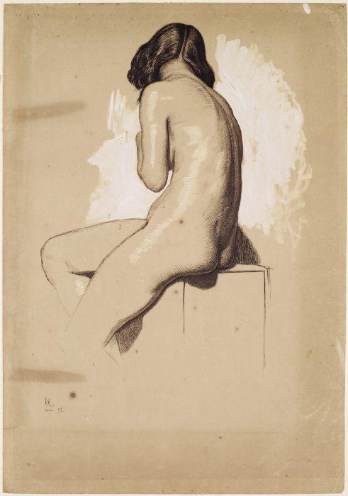 William Holman Hunt ...being that I'm an LMT backsides fascinate me... :)