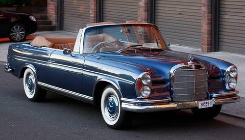 1964 Mercedes Benz 300se Cabriolet With Images Mercedes Benz