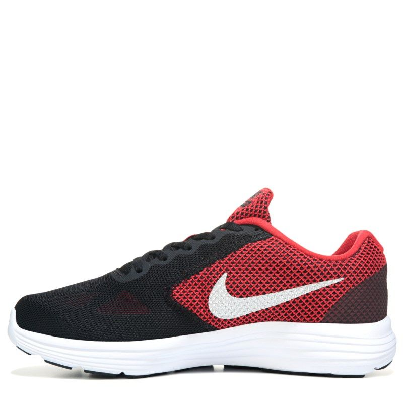 c15f196cbe13 Nike Men s Revolution 3 X-Wide Running Shoes (Red Black)