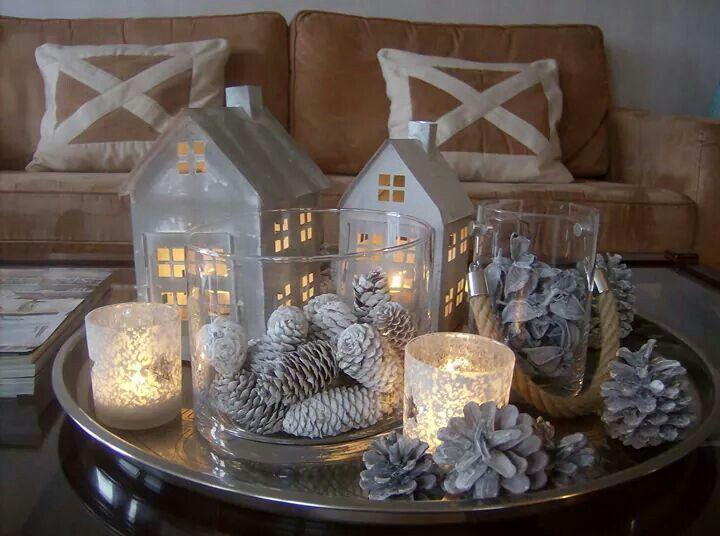 Kerst Tafel Decoratie : Tafel decoratie herfst winter kerst christmas decorations