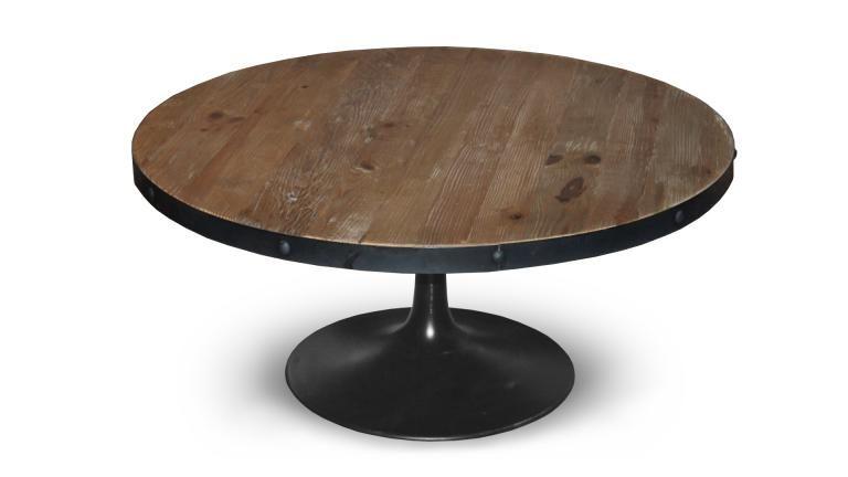 Table Basse Indu Metal Bois Cogolin 2 Mobiliermoss Idees D