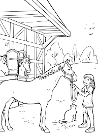 Coloring Page Horse Stable Coloring Pages Printable Coloring Pages Male Sketch