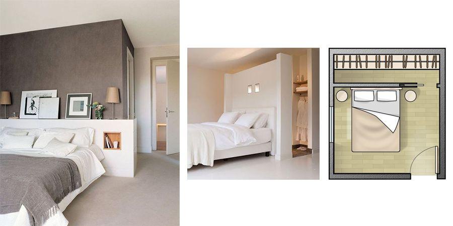 Camera da letto con cabina armadio: ecco il segreto | Pinterest