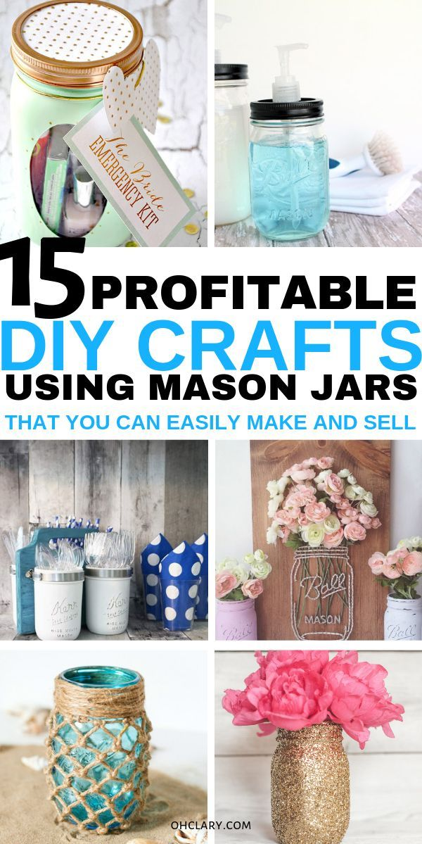 15 DIY Mason Jar Crafts To Sell For Extra Cash That You Need To Know About 15 DIY Mason Jar Crafts To Sell For Extra Cash That You Need To Know About