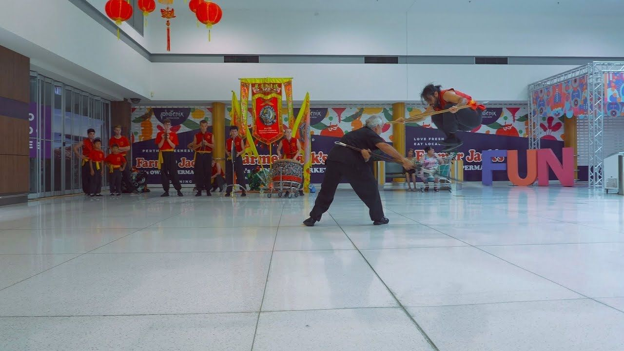 Kung Fu Demo CNY 2019 Phoenix Spearwood Chinese New Year