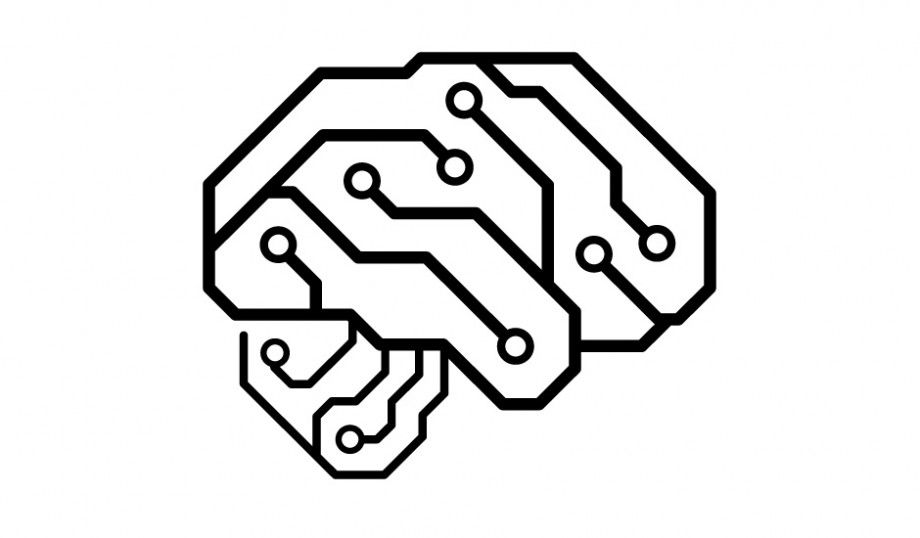 logo design for neurelectric  a circuit board design