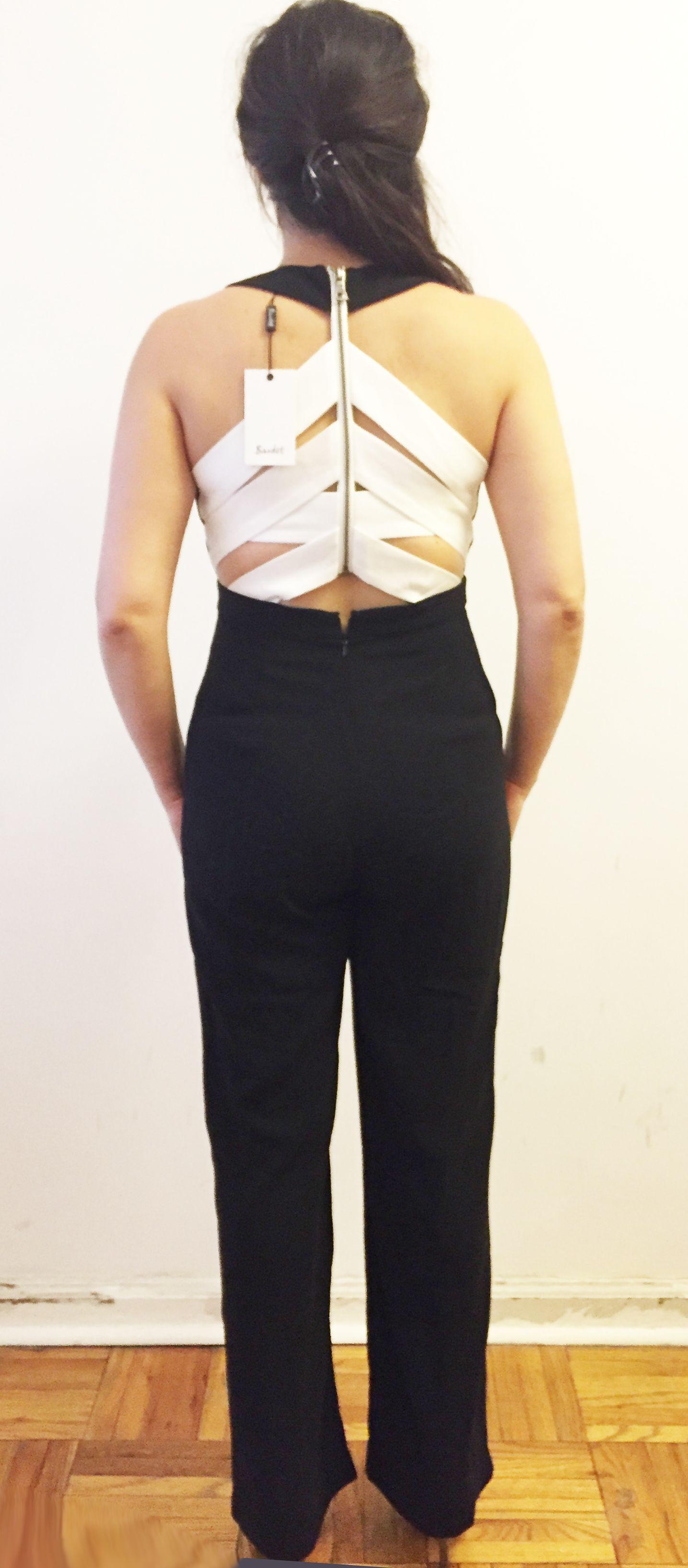 Bardot Jumpsuit back.
