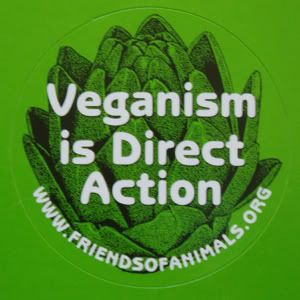 Veganism is direct action