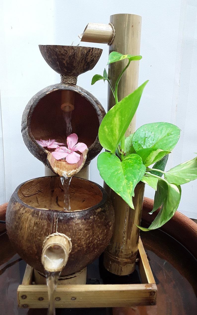 Table top water fountainmini fountainindoor fountain | Etsy
