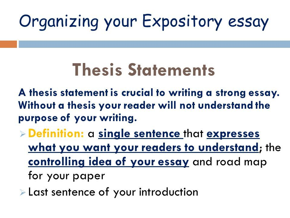 Thesis For An Expository Essay - Best Opinion | Expository Essay, Expository  Writing, Essay