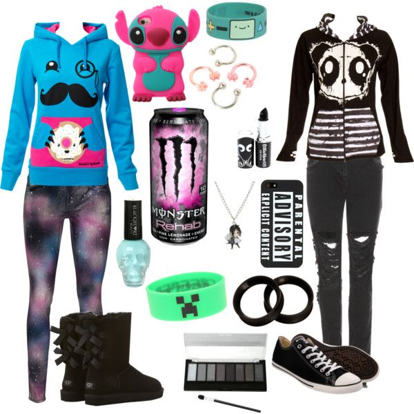 Scene Girl Outfits, Scene Outfits, Emo