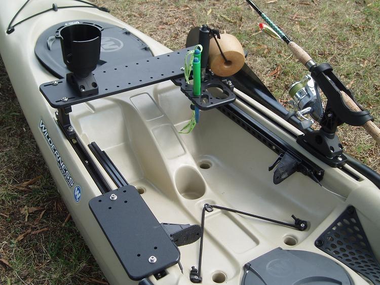 Tarpon 140 Fully Rigged W Slidetrax Accessories Wilderness Systems Kayak Fishing Tips Angler Kayak Kayaking