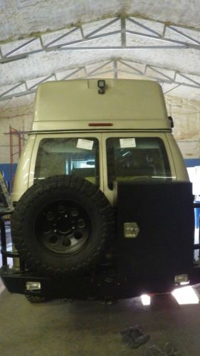 Ford High Top Camper Van Conversion Package 4x4 Diesel Expedition Grade