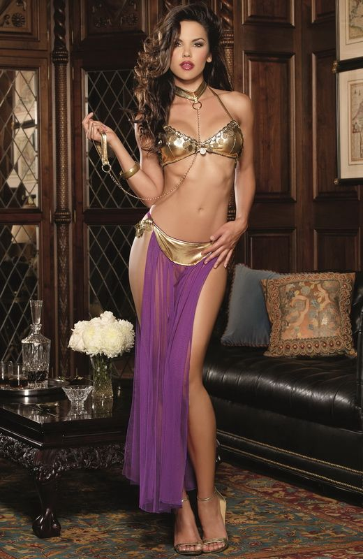 Red Diamond Harem Slave Sexy Costume d5040543f6b1b