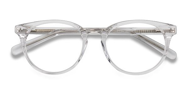 Morning Clear/White Acetate Eyeglasses from EyeBuyDirect. Discover ...