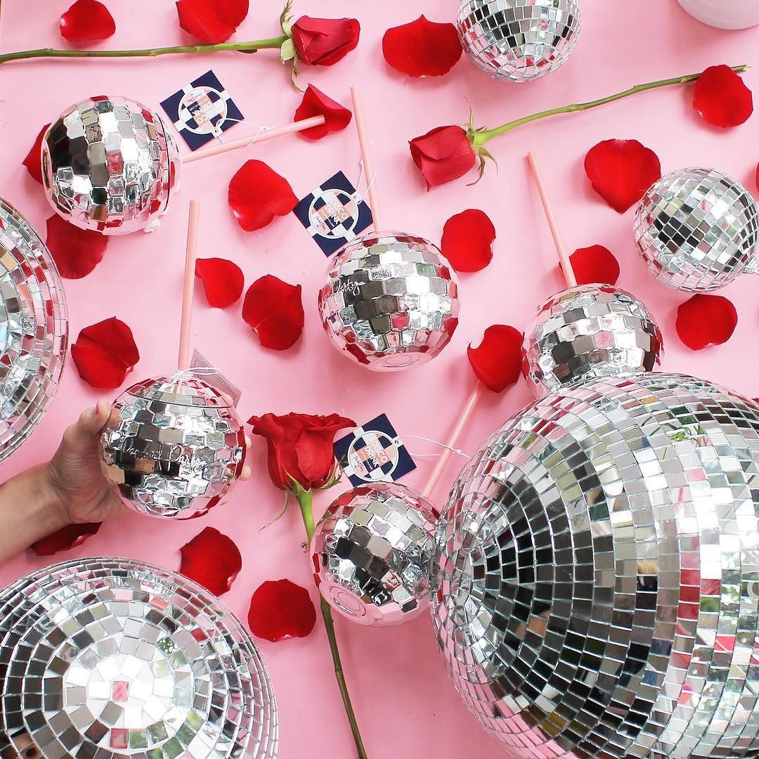 Packed Party Disco Drink In 2020 Party Packs Diy Mirror Ball Disco Theme