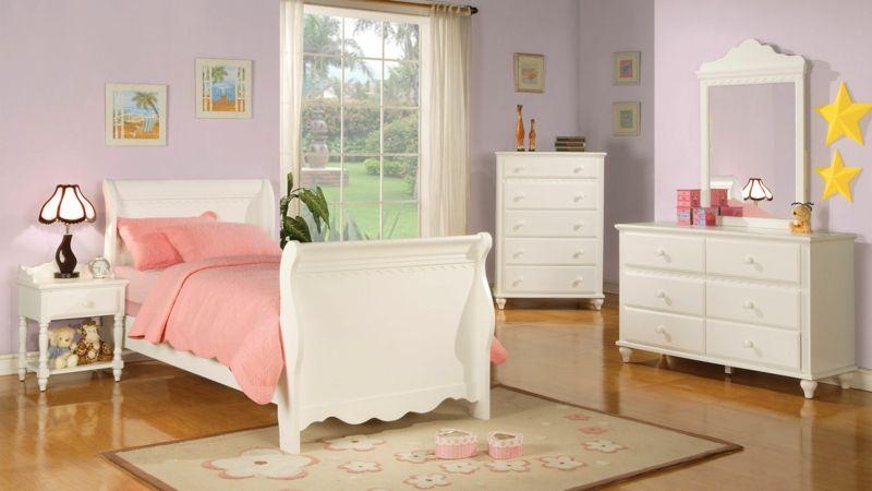 Kinderzimmer für kleines Mädchen gestalten Pastellfarben einsetzen