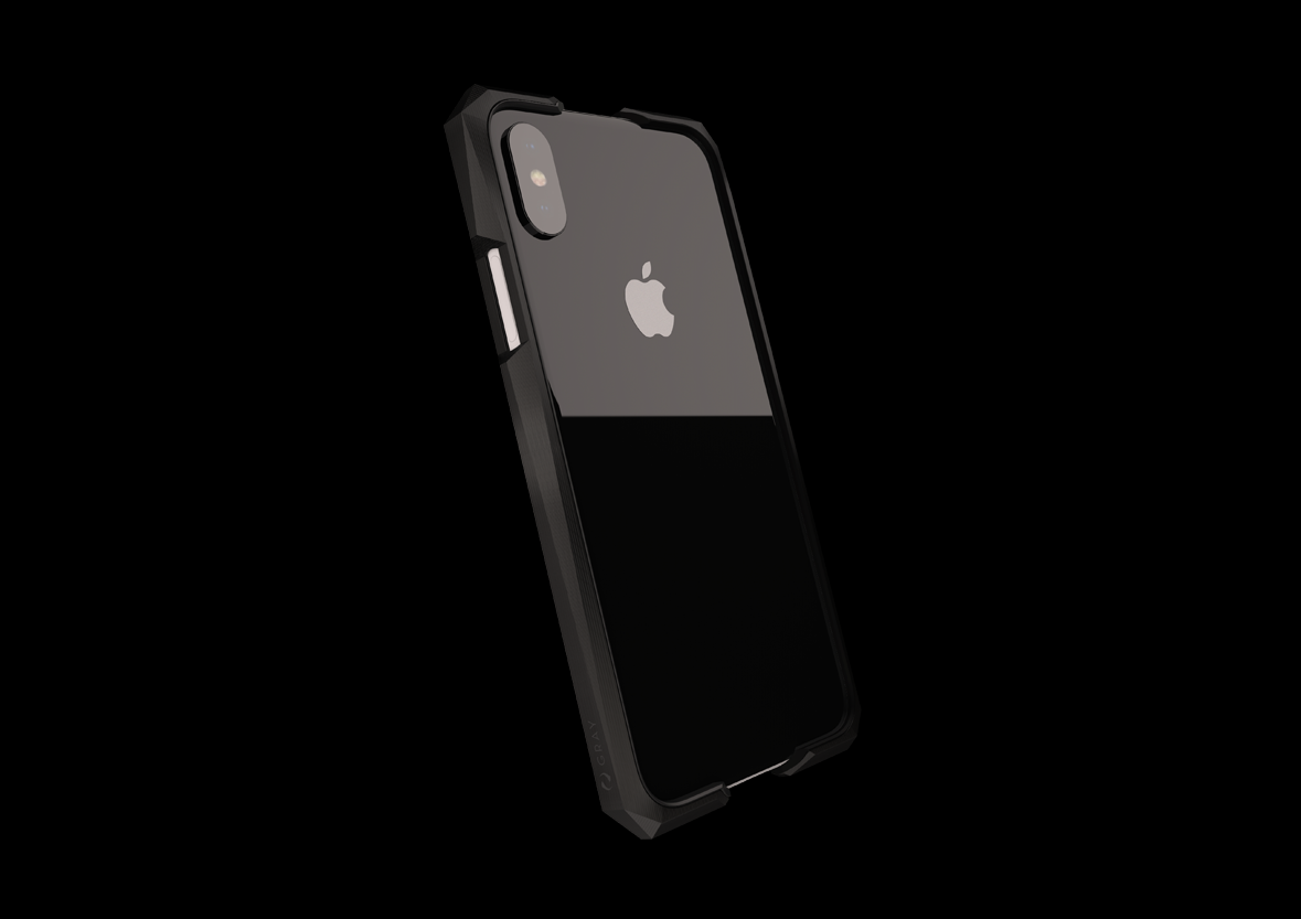 info for 8089b bfb3b Advent Stealth | Luxury Titanium Metal iPhone X, X Plus cases | GRAY ...