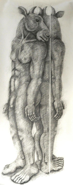 Sophie Ryder Artist | THE MINOTAUR