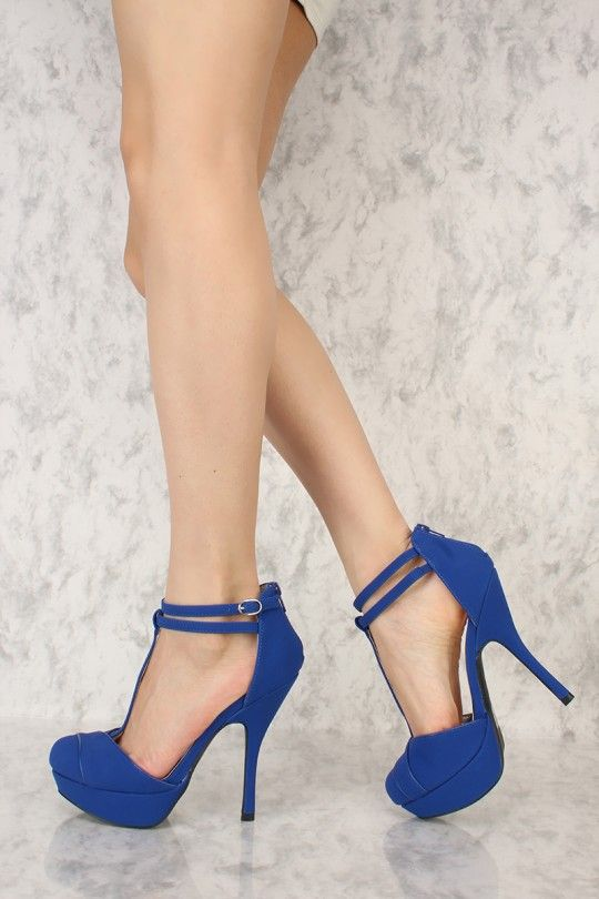 542737539c0 These sexy and stylish platform pump heels include a faux leather nubuck