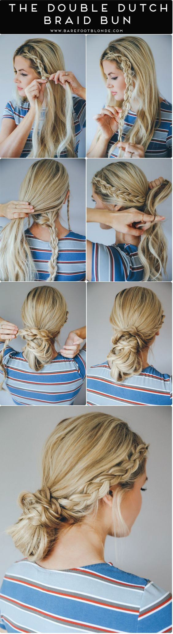 9 Creative Dutch Braid Tutorials You Need To Try This Summer ...