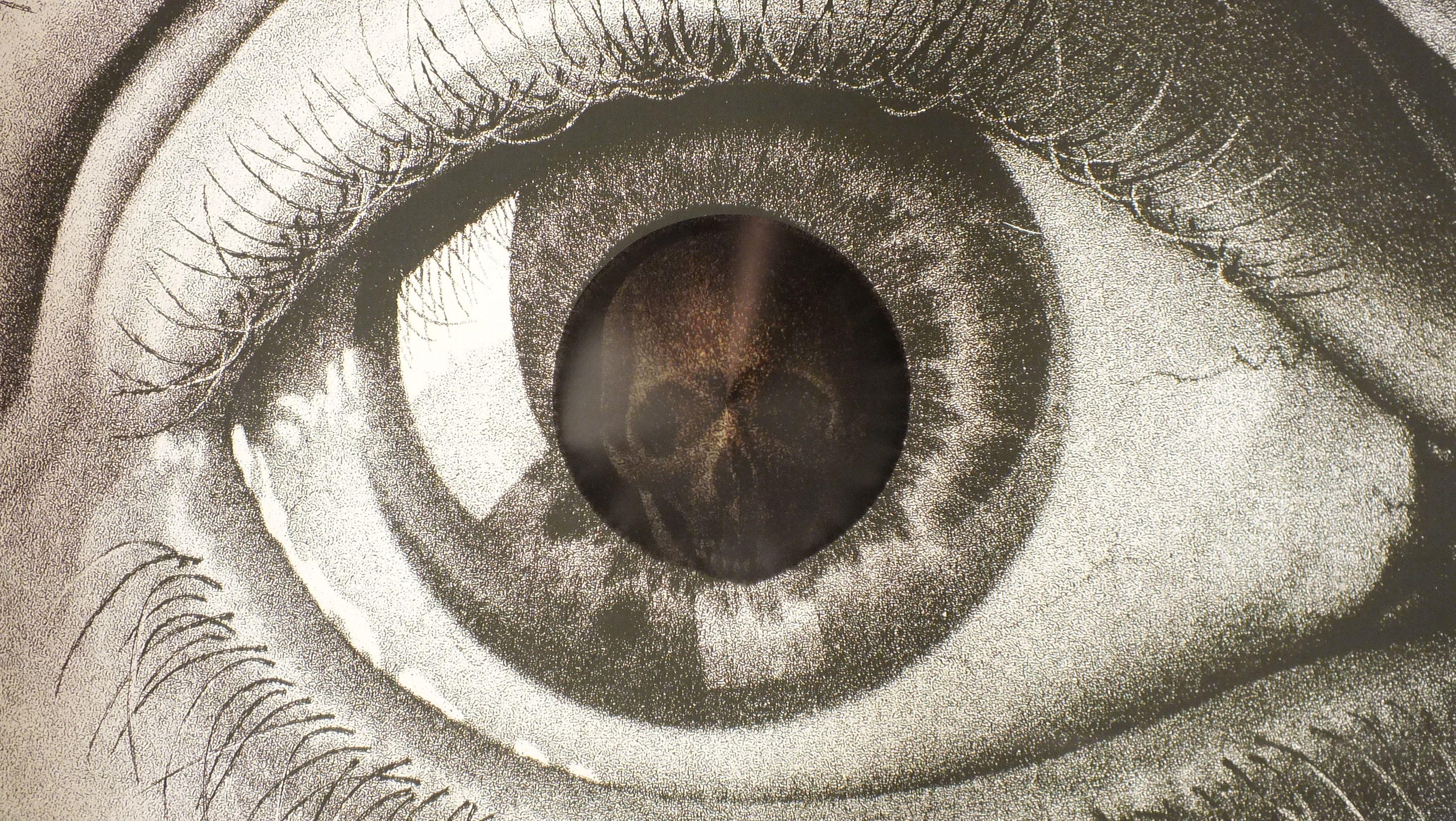 O Olho Mágico.