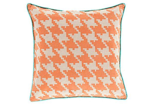 Citrus Cotton Pillow, Orange on OneKingsLane.com