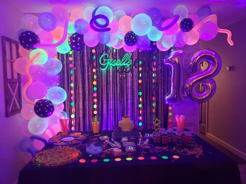 Pin On Glow Party