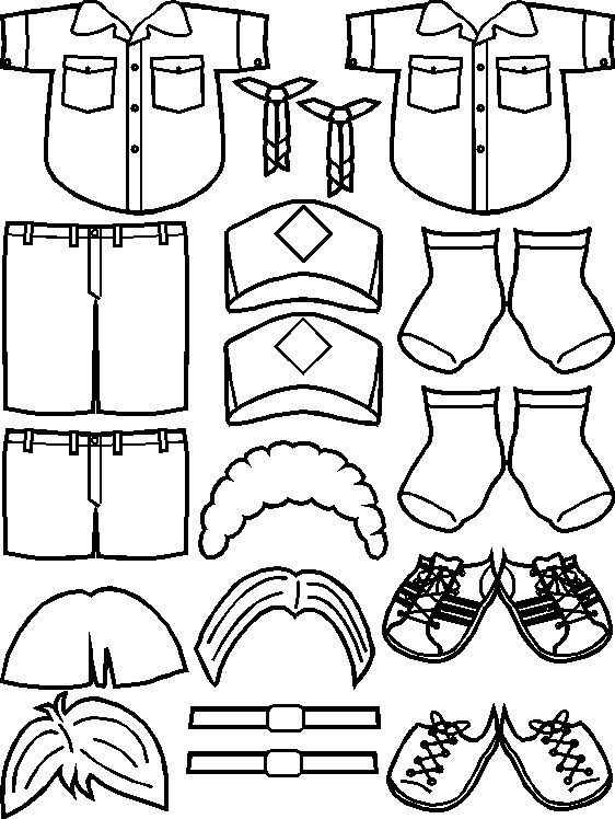 Uniforms for Cub Scout Friends | scouts | Pinterest | Muñecas