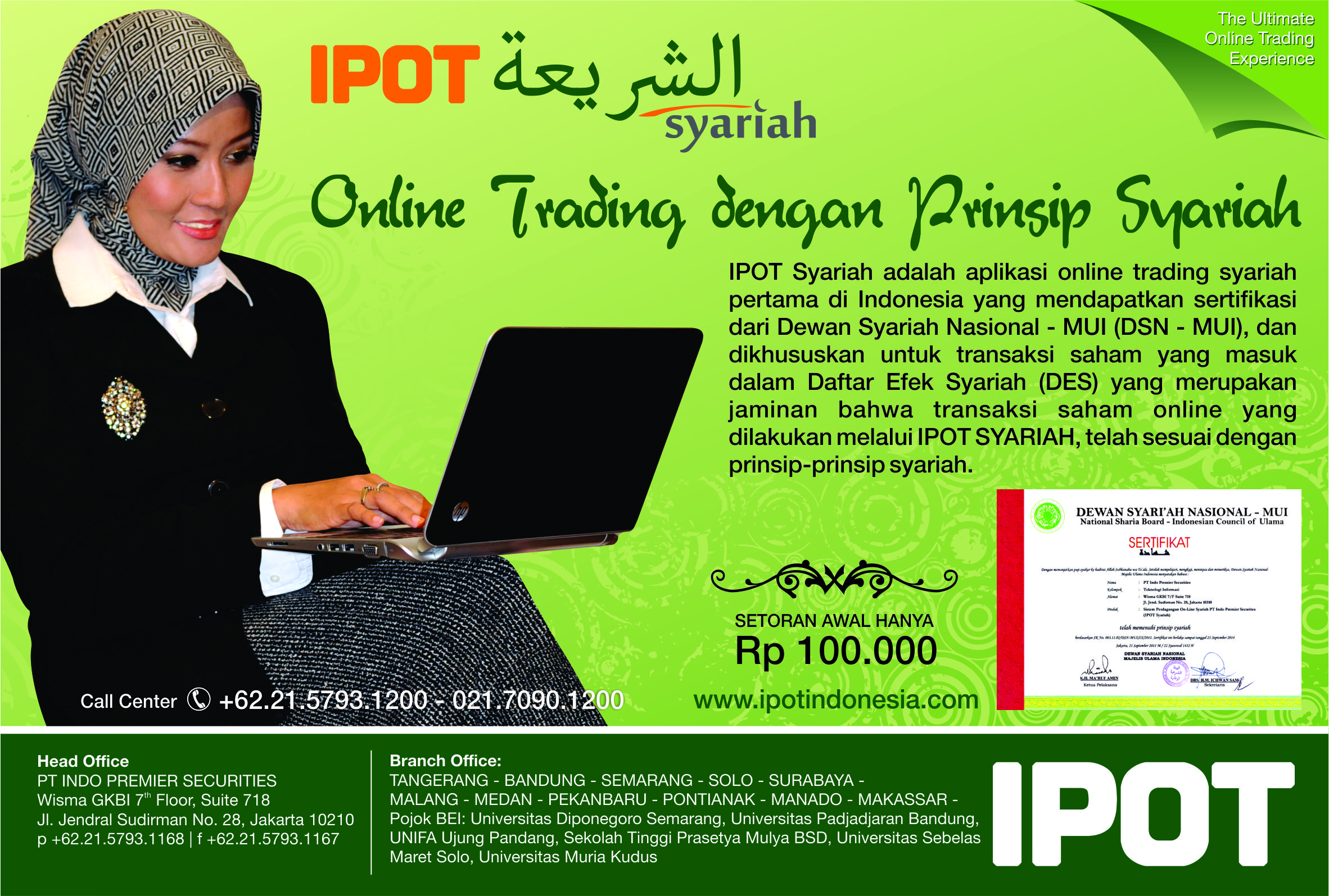 Ipot Syariah Aplikasi