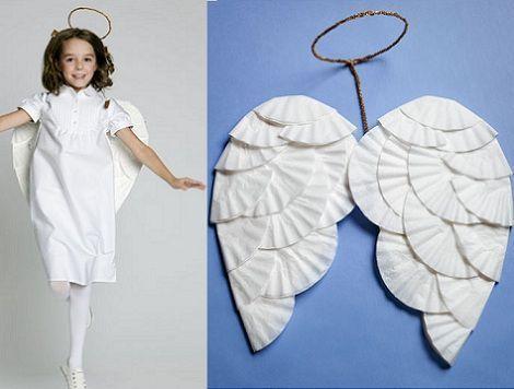 Disfraces Caseros Ninos Angel Jpg 470 356 Christmas Costumes Costumes Nina