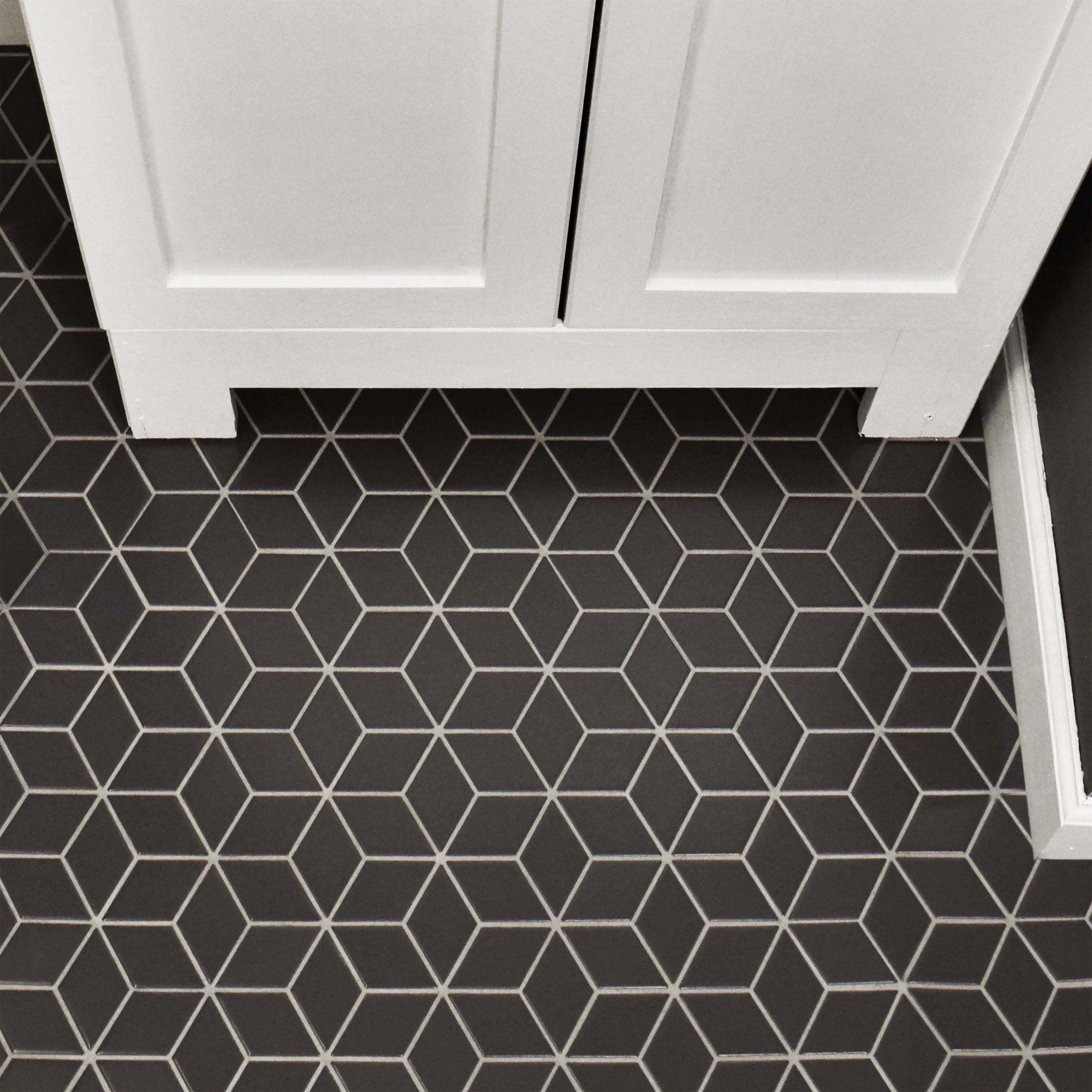 Retro Rhombus 2 X 3 Porcelain Mosaic Tile Tegels Vloeren Retro