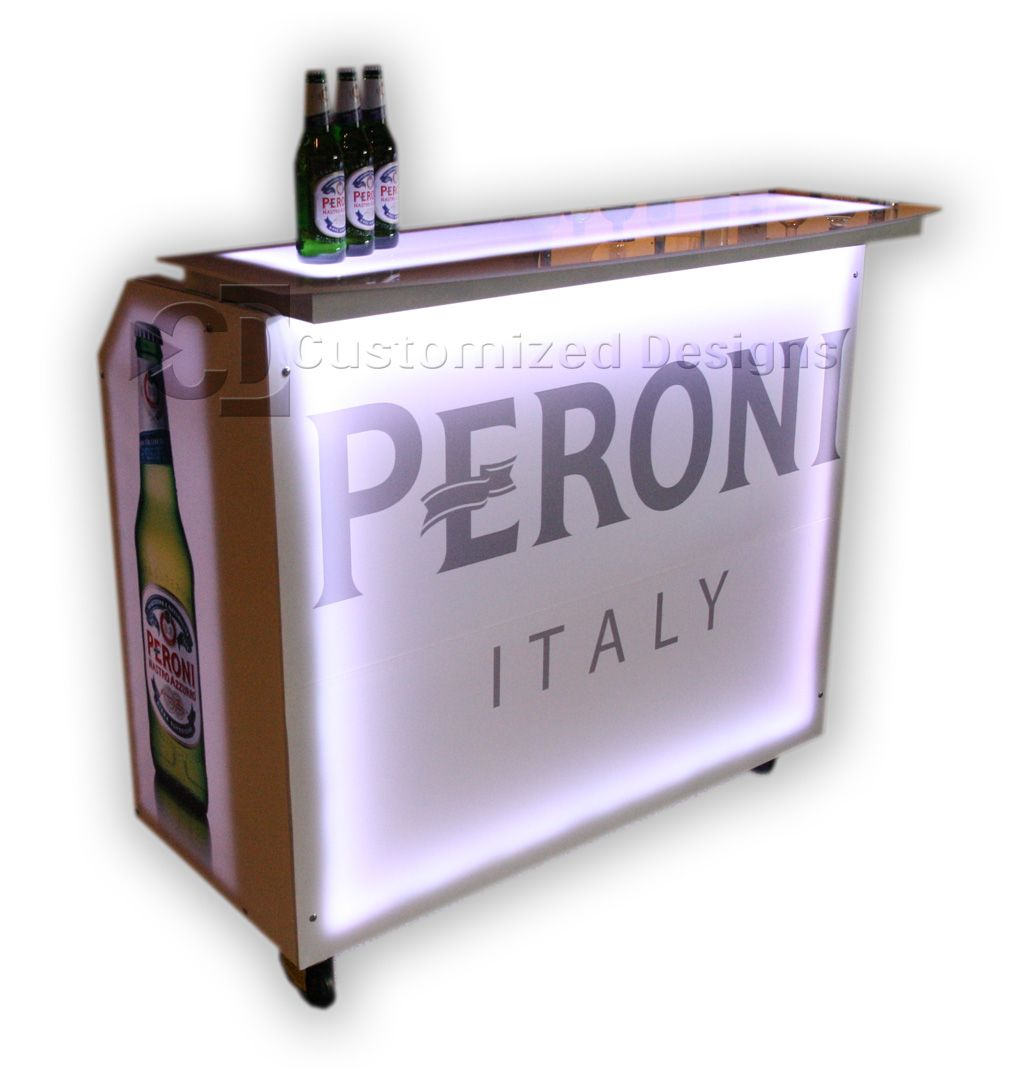 Portable Bar Plans Made At Home - http://www.educatekate.com ...