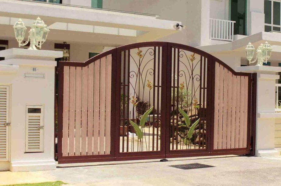 Home Designs Simple Modern Gate Designs For Homes Gallery And House
